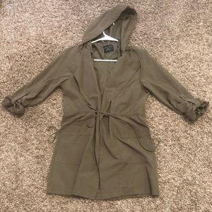 Long sleeve thin material coat